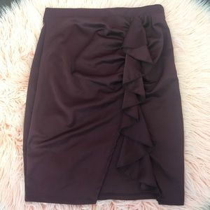 Dresses & Skirts - ✨SALE✨ Plus Ruffle Skirt (FINAL PRICE)